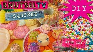 KnutselTV - DIY Squishy High tea