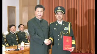 Two Chinese Military Officers Promoted as Generals