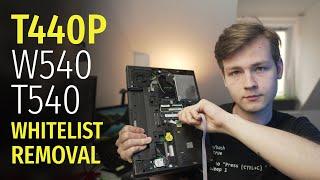 Removing Wi-Fi Whitelist oฑ Haswell Thinkpads (T440p, T540, W540) & Unlocking Advanced BIOS Settings
