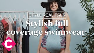 Swim suits with full coverage | Style Real Talk
