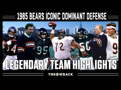 1985 Bears: The Greatest Defensive Season of All-Time! | Legendary Teams
