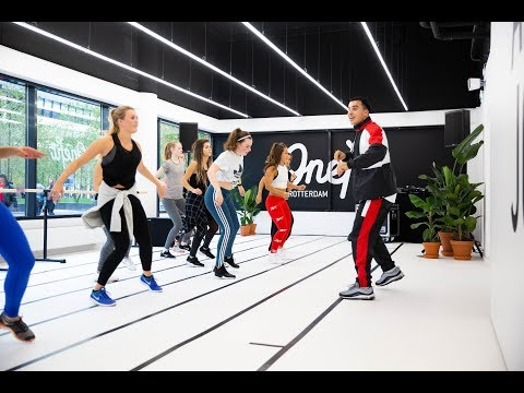 The OneFit Pop-up Gym in Rotterdam