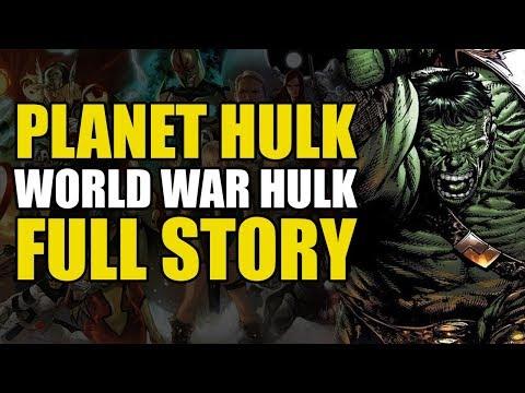 The Strongest Hulk Vs The Marvel Universe! (Planet Hulk/World War Hulk: Full Story)