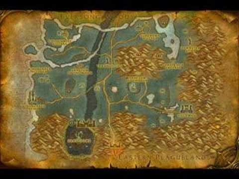 World of Warcraft: Eastern Kingdoms maps - YouTube