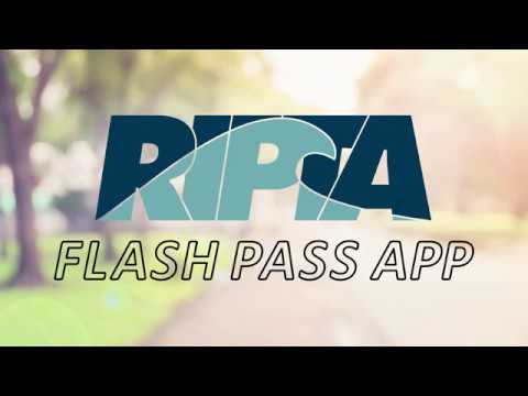New! RIPTA Flash Pass App Instructional Video