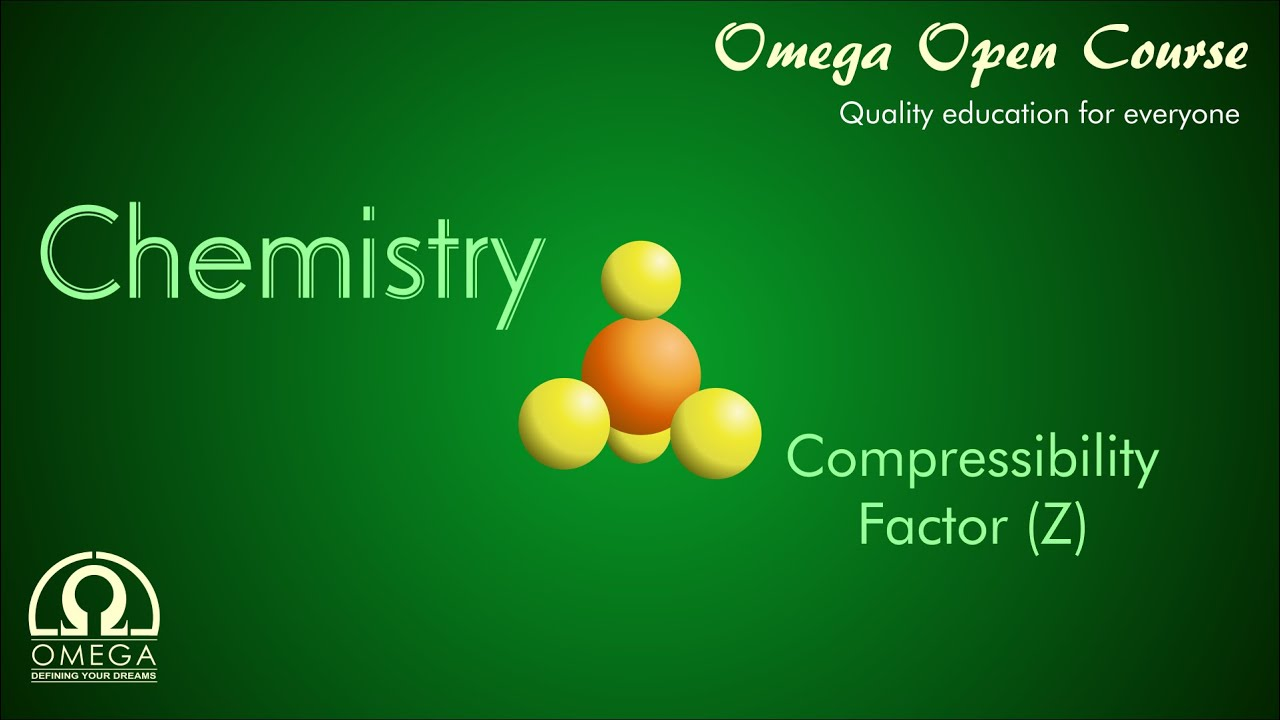 compressibility chemistry. compressibility factor (z) chemistry