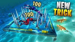 NEW Underwater TRAP Method..!! | Fortnite Funny and Best Moments Ep.606