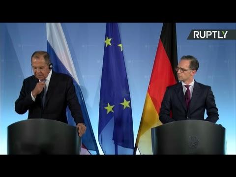 Пресс-конференция Сергея Лаврова и Хайко Мааса