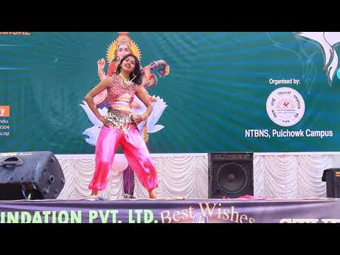 Belly Dance at Pulchowk Campus on the occasion of Saraswoti Puja 2074