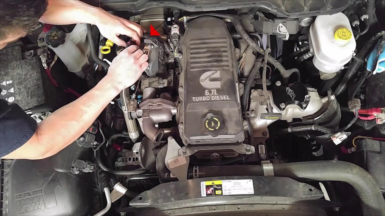 Dodge Ram 2014 6.7 EGR Deleting Video - YouTube