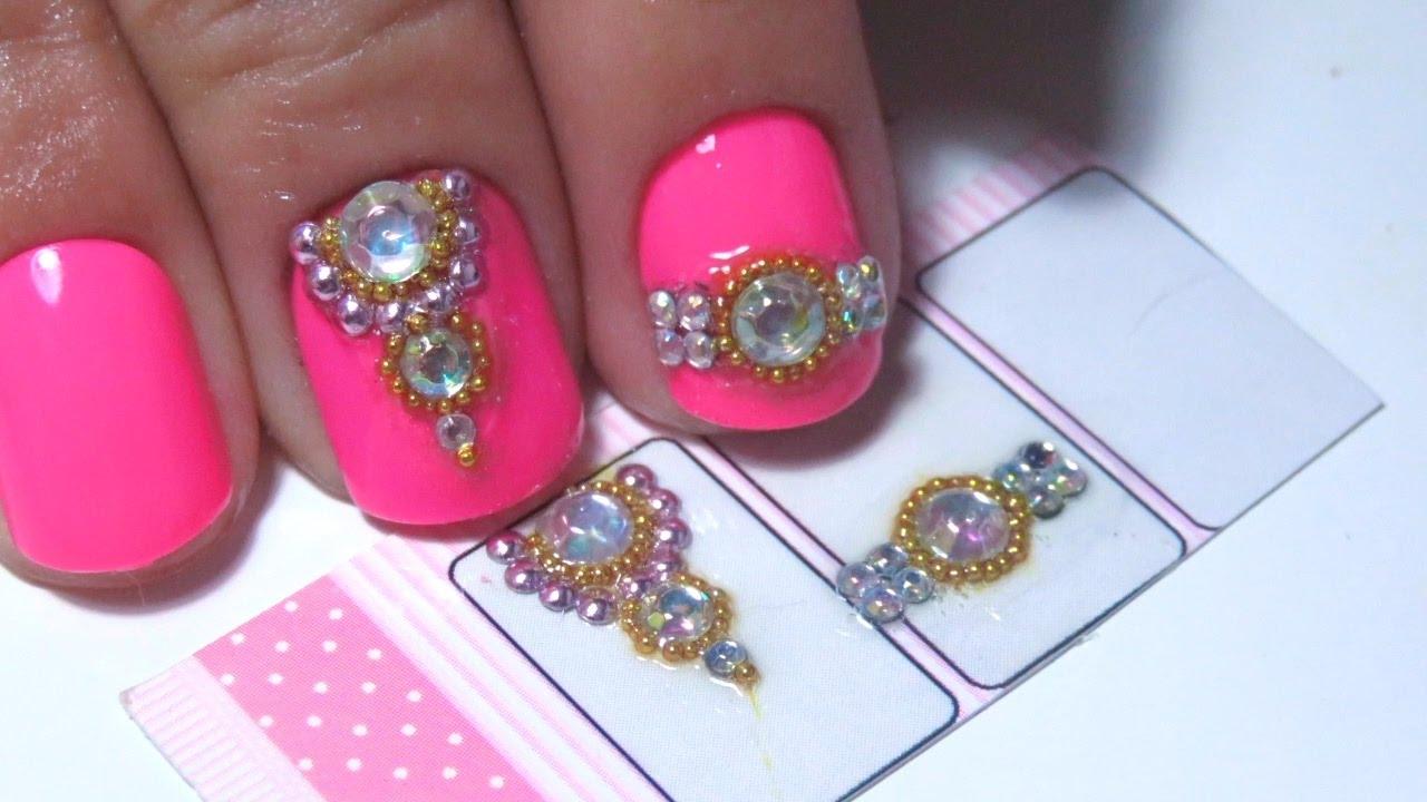 jóias de unhas como aplicar