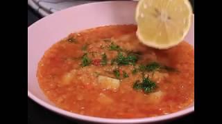 Легкий рецепт чечевичного супа | Как приготовить суп из красной чечевицы