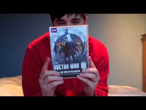 Doctor Who DVD Unboxing #25: The Moonbase & The Time Of The Doctor & SJA Series 2 & 4