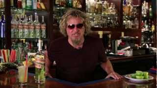 Sammy Hagar Demonstrates Making An Infused Rum Cocktail with Sammy
