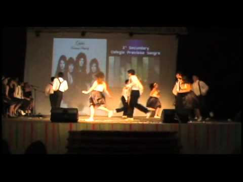 Festival de Ingles 2011 Pichilemu (Walking on Sunshine, 2ª Medio) Videos De Viajes