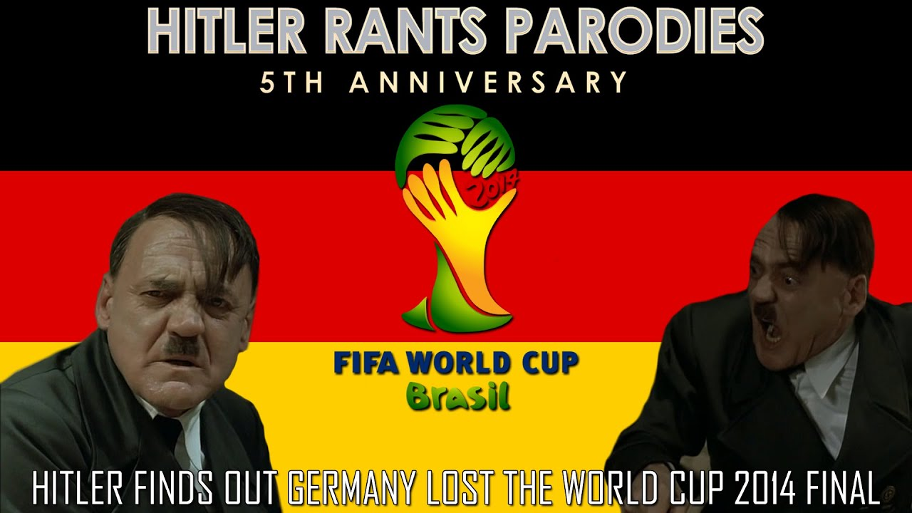 Hitler finds out Germany lost the World Cup 2014 Final (Parallel Universe)