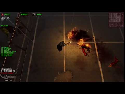 Dead Frontier: Killing Flaming Flesh Hounds + Commentary