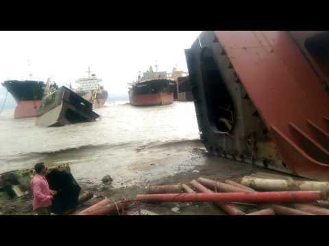 Rockaway Bella beached at peninsula steel mills ltd yard Chittagong