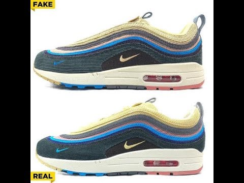 picked up best website hot product REAL VS FAKE Air Max 1/97 Sean Wotherspoon Comparison