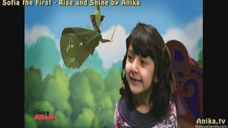 Sofia the First Rise and Shine Song by Anika of Dobcroft School