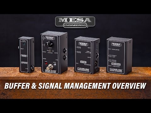 MESA/Boogie Buffers and Signal Management Overview