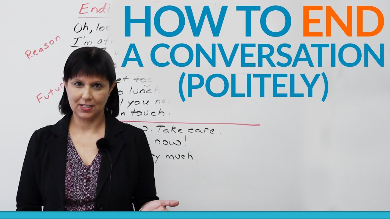 how to talk politely on the phone