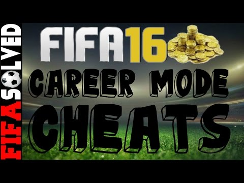 FIFA 16 Career Mode Cheats