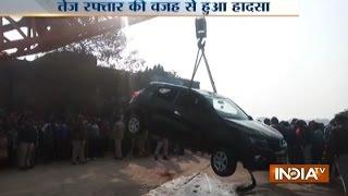 MP: Speeding Car Falls Into Lake In Bhind, 1 Dead