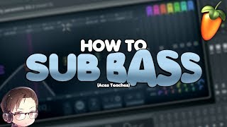 Aces Teaches: How To Make Sub Bass [Sponsored]