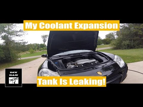 Porsche Cayenne: How To Replace The Coolant Expansion Tank