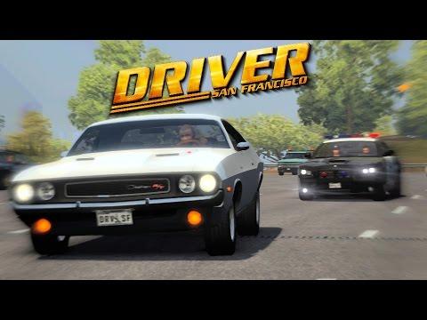 Driver San Francisco- White Dodge Challenger Chase (Mod)