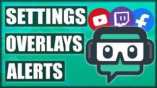 COMPLETE Streamlabs OBS Tutorial 2020 | Settings + Graphics + Alerts [Free Overlay]