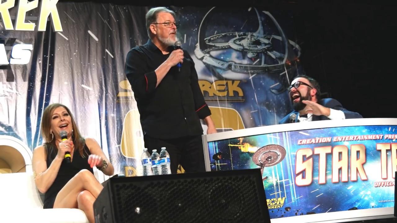Download Jonathan Frakes and Marina Sirtis at Star Trek Las Vegas - 8-3-18