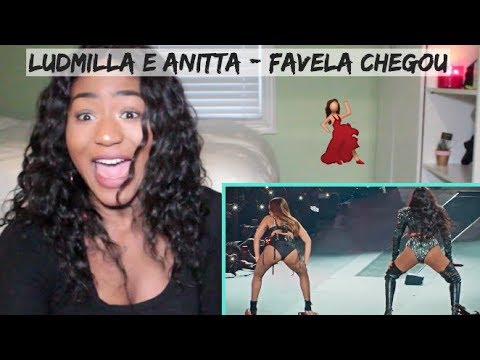 Ludmilla e Anitta - Favela Chegou DVD Hello Mundo Ao Vivo  REACTION