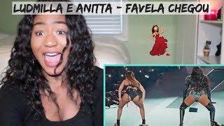 Ludmilla e Anitta - Favela Chegou (DVD Hello Mundo Ao Vivo) | REACTION