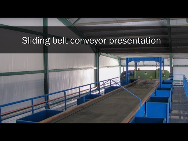 Sliding belt conveyor presentation