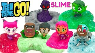 Fizzy and Phoebe Make DIY Teen Titans Slime
