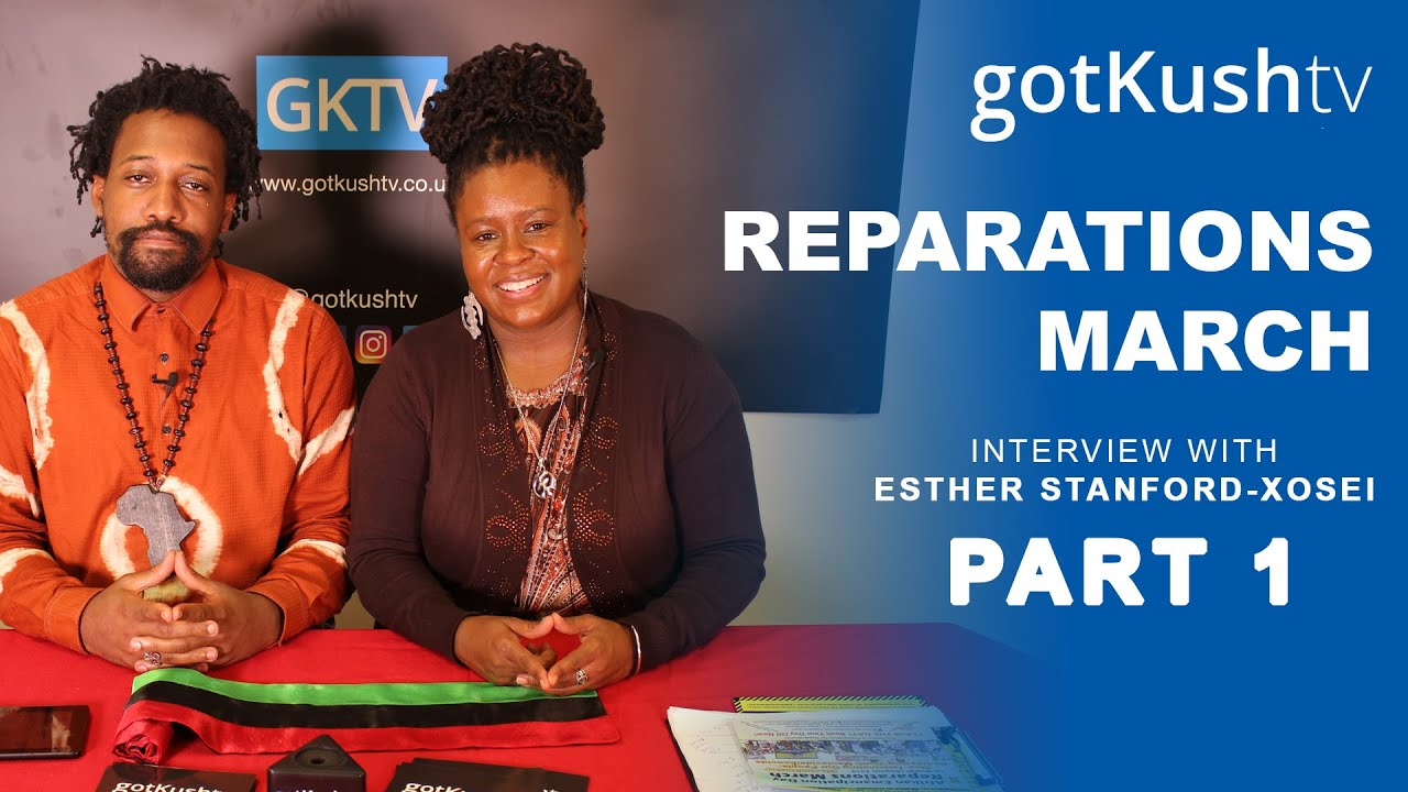 REPARATIONS: Why are we still Marching? • Esther Stanford-Xosei Interview part 1
