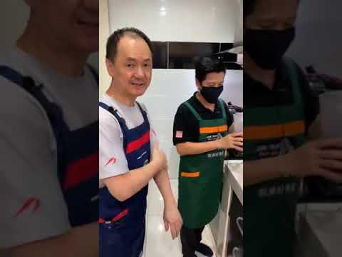 表弟好煮意---年糕,-虾仁炒饭,-客家芽菇花肉,-rice-cake,-fried-rice-with-shrimp,-braised-pork-belly-with-bud-mushroom