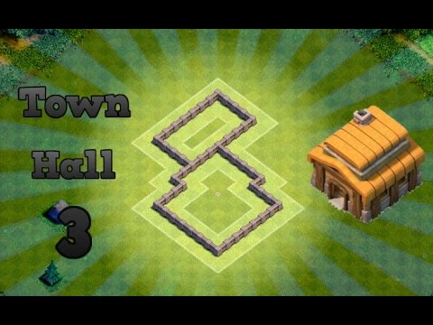 Clash Of Clans - Best Town hall 3 defense strategy + defense clips # 2