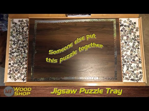 Jigsaw Puzzle Tray
