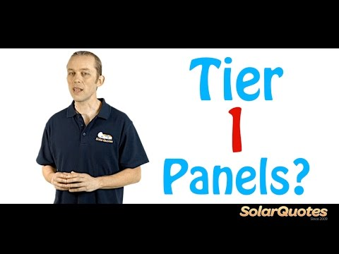 what-is-a-tier-1-solar-panel?