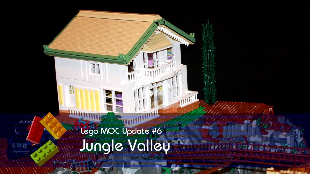 lego friends jungle valley update 6 villa vehicle. Black Bedroom Furniture Sets. Home Design Ideas