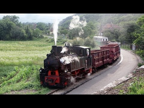 Schmalspurbahn Brad - Criscior HD Narrow Gauge Steam Railway Romania