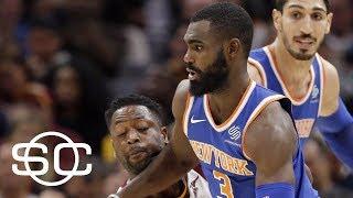 Tim Hardaway Jr. and Knicks exposed Cavaliers veterans' weaknesses | SportsCenter | ESPN