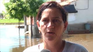 Morada Nova - Claudete Martins fala do transtorno causado pelas águas da chuva