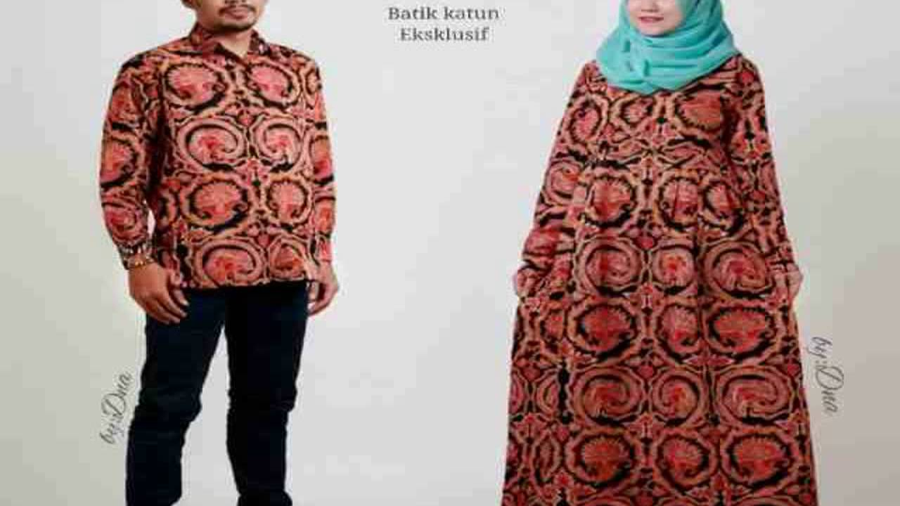 Dinar Batik Art Model Dress Batik Keris