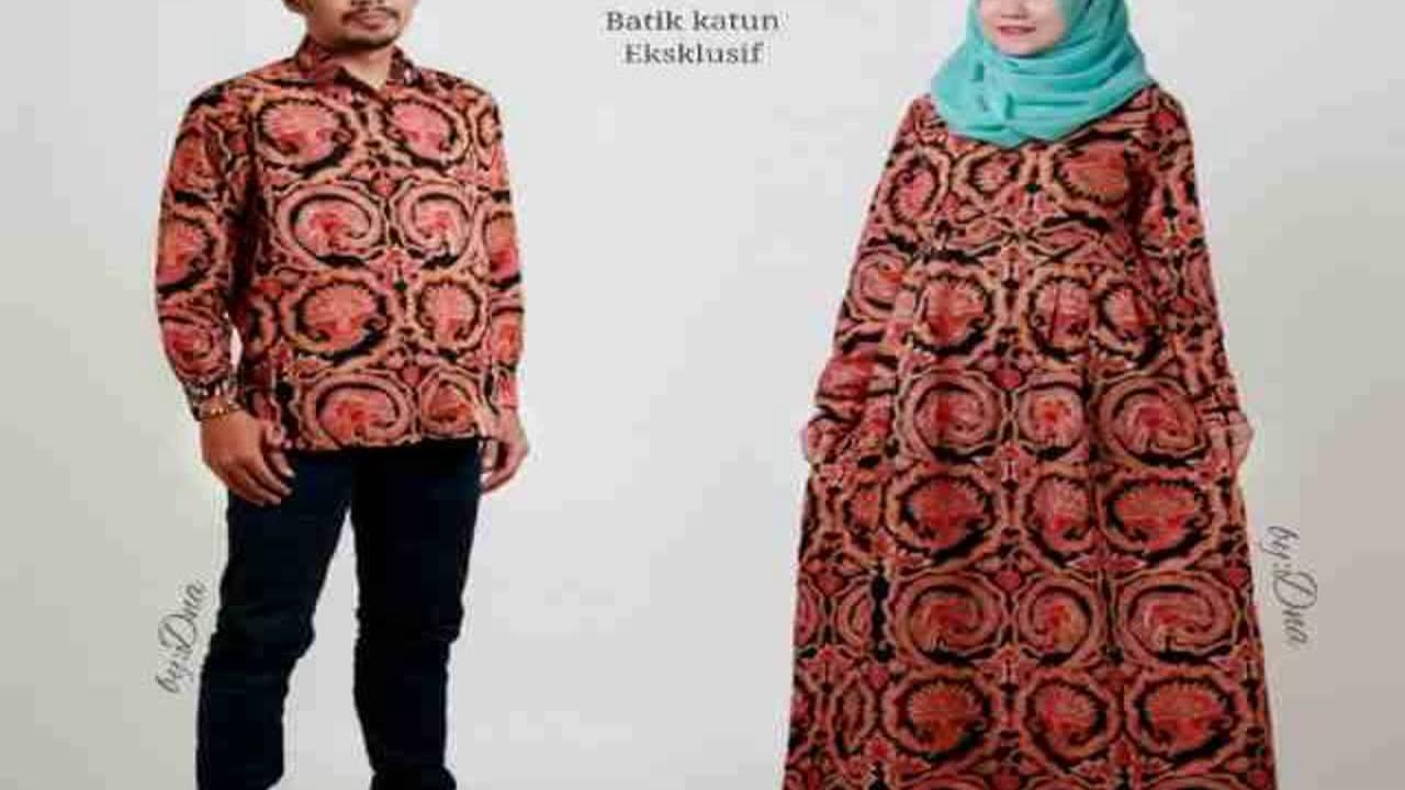 Dinar Batik Art Model Dress Batik keris - YouTube