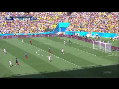 France Germany 2014 World Cup Full Game ESPN Quarterfinal Quarterfinals Deutschland
