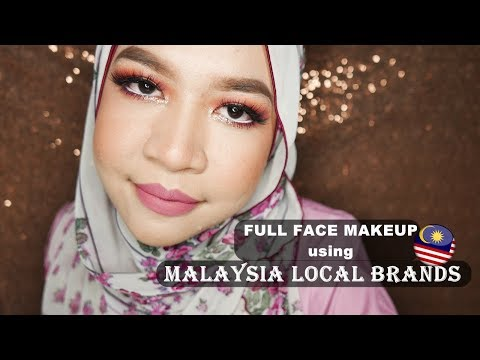 FULL FACE USING LOCAL BRAND MAKEUP (MALAYSIA)